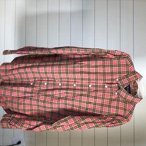 Men's Polo dress shirt- Large